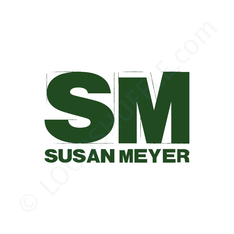 Logo idea: Company name as lettermark - Logo Design Example for creative people