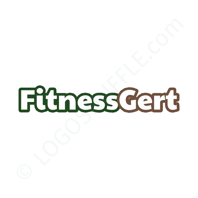 Logo Idea: Company name as wordmark in two colors - Logo Design Example for studios