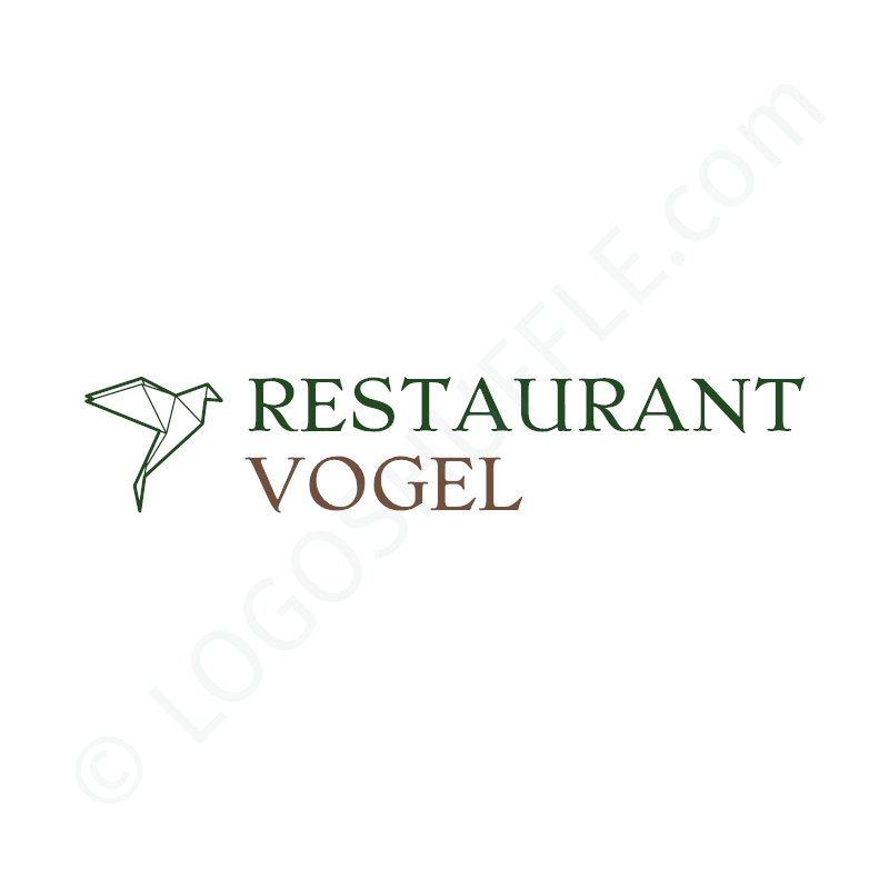 Logo idea: Company name two lines with symbol left - Logo Design Example for hosts
