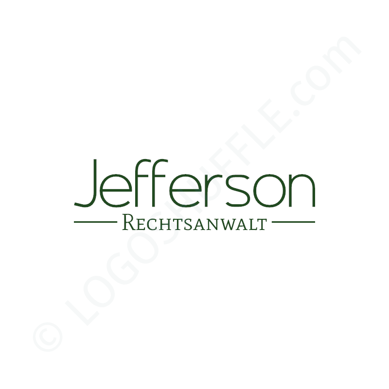 Logo Idea: Company name as wordmark with slogan - Logo Design Example for professionals