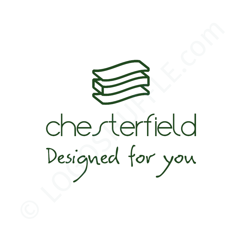 Logo idea: Company name with symbol and slogan - logo design Example for designers